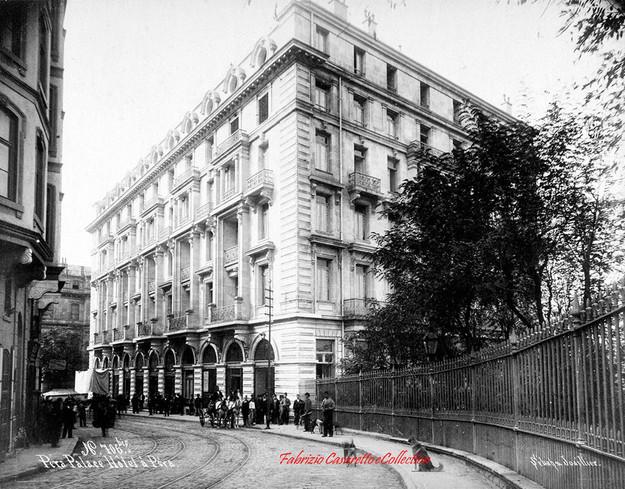 Pera Palace Hotel a Pera 706bi. 1890s