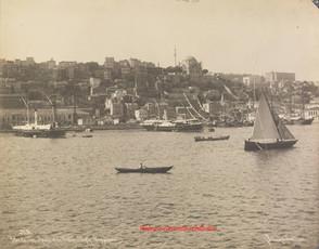 Vue de Top Hane et de Gaba Tash. Bosphore 329. 1890s