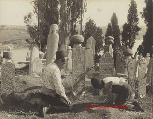 Cimetiere turc. Eyoub 781. 1890s