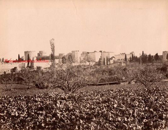 Les jardins des Sept Tours. 1890s
