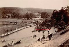 La Promenade du Vendredi et le Kiosk Imperial aux Eaux Douces d'Europe 68. 1880s