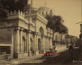 Mosquee et fontaine Valide a Ak Serail 169. 1890s