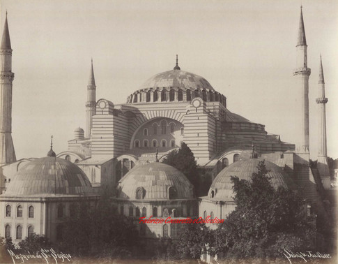 Mosquee Ste Sophie 99. 1890s