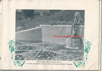7 - Le bassin des Nenufars dans le jardin de la Grande Assemblee Nationale