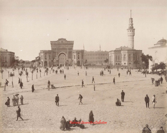 Entree et la tour de Seraskierat 181. 1890s