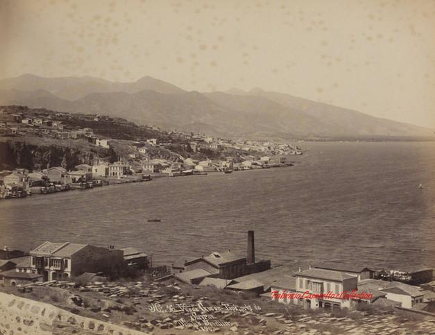 Vue de Gueuz Tepe pres de Smyrne 16. 1890