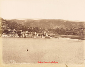Vue des Chateaux d'Asie au Bosphore 379. 1880s