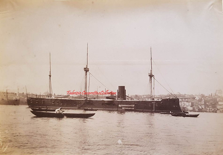 Stationnaire Assar-i-Tewfik 1890s