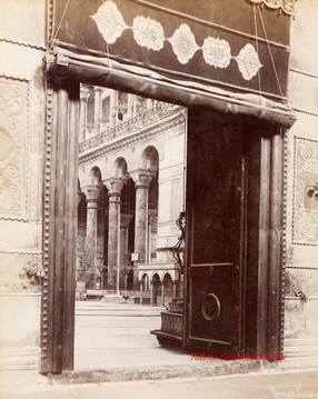 Porte du vestibule de Ste. Sophie 454. 1890s