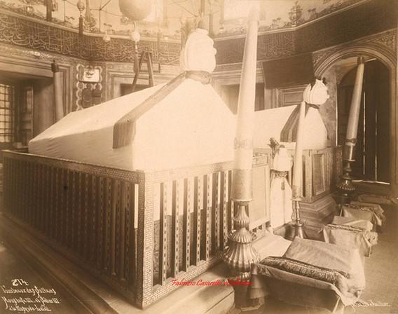 Tombeaux des Sultans Moustafa III et Selim III a la Mosquee Laleli 274. 1890s
