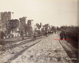 Les murs de Constantinople et les Sept Tours 87. 1889