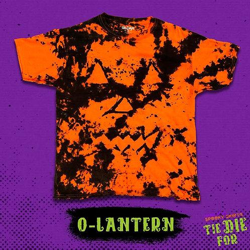 Jack O' Lantern Tie Die For Shirt
