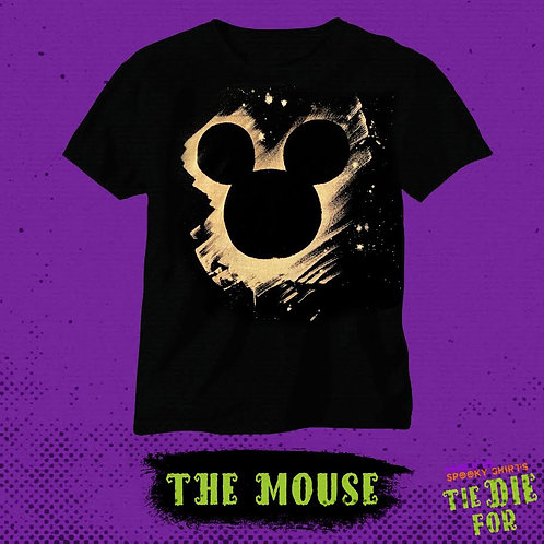 The Mouse Bleached Tie Die For Shirt
