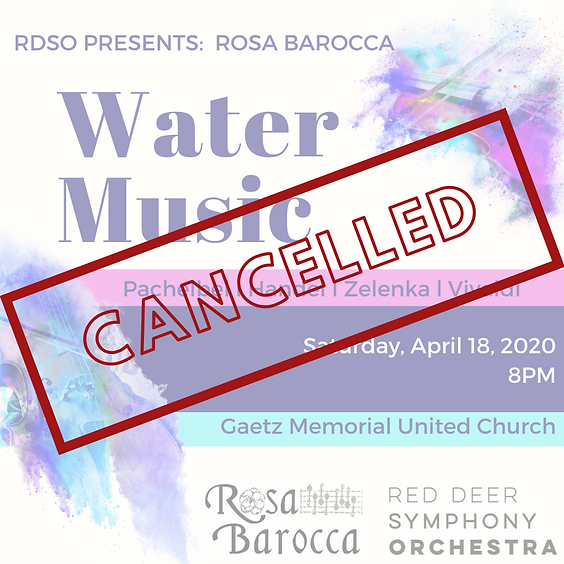 Water Music  - CANCELLED
