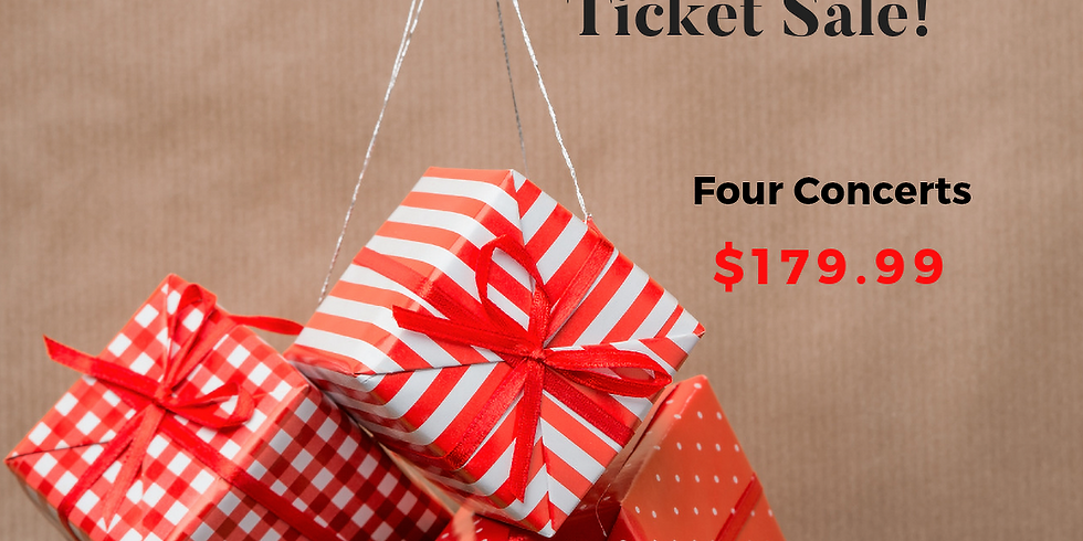 Holiday Ticket Sale
