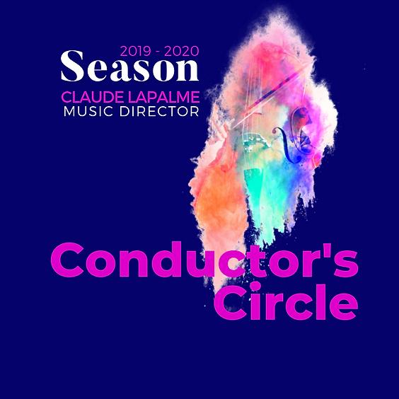 Conductor's Circle Membership 2019 - 2020
