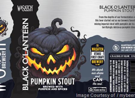 Black O'Lantern Pumpkin Stout