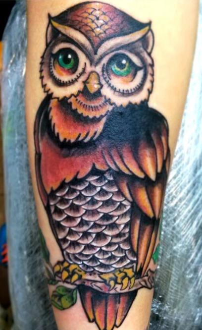 Adrian Traditional Owl