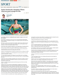 Minna the_australian article