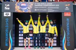 Australian Junior Freestyle Relay Gold