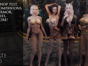 Update V0.780 Workshop Test, New Companions, Maps, Lingerie and more!
