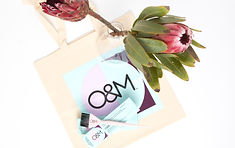 O&M cor color logo