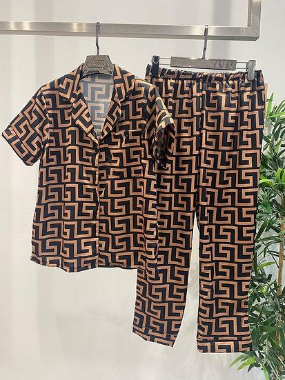 F inspired pyjamas