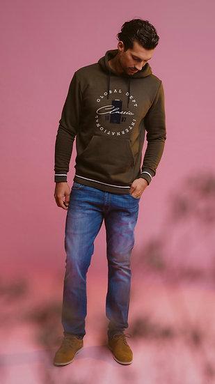 Men's Khaki hoodie