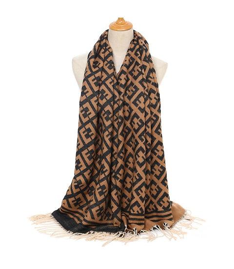 Wooly designer inspired scarf