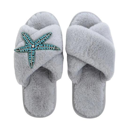 Starfish slippers