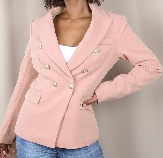 Rose military blazer