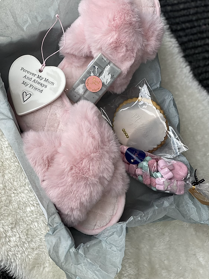🌸 Slippers Mother's Day box 🌸