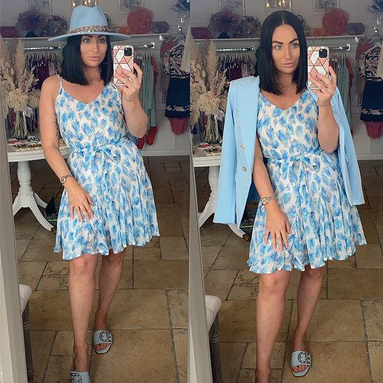 Summer watercolour dress