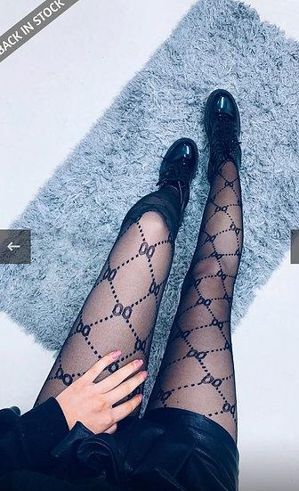 Pattern tights