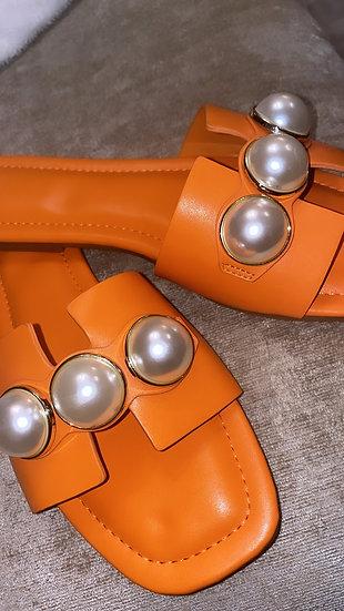 Orange Pearl slider