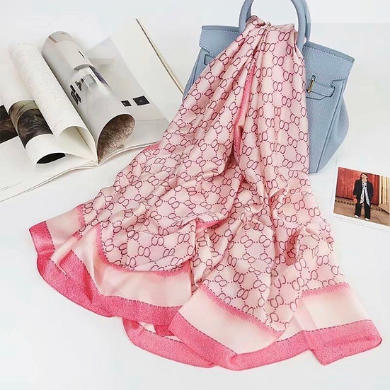 Silky Pink scarf
