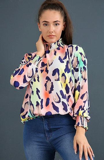 Animal blouse