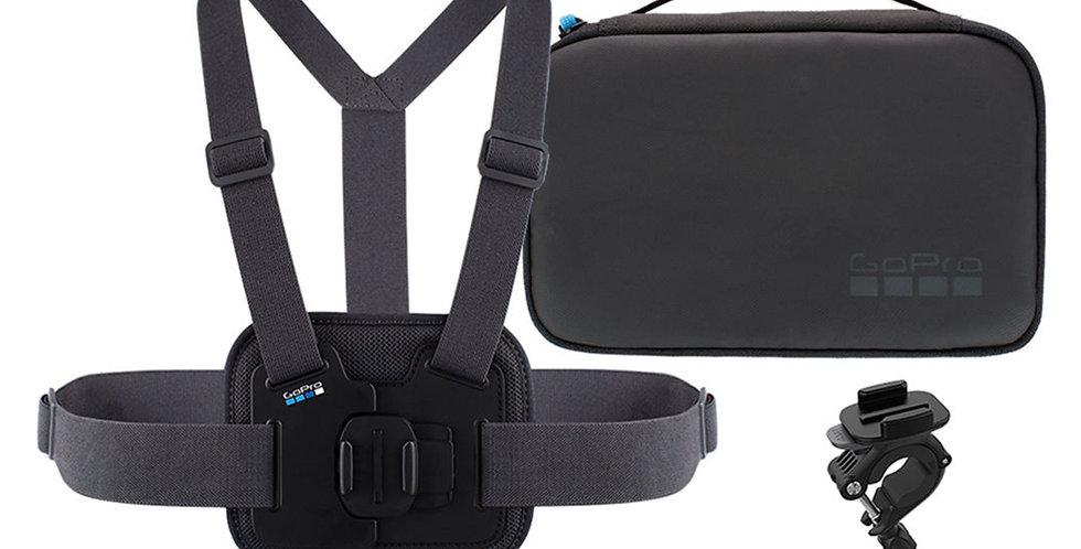 GoPro Kit Deporte Chesty + RollBar