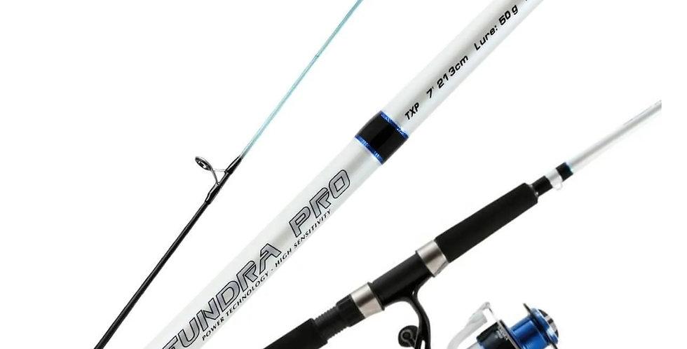 Okuma Combo Carrete/Caña Tundra Pro 9' 15-30 lbs