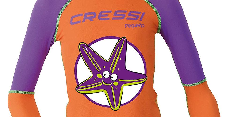 Cressi Playera Rash Guard Kids