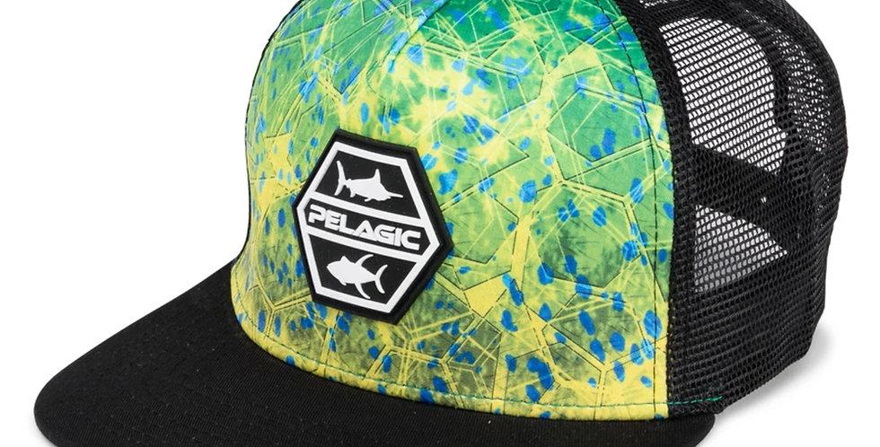 Pelagic Gorra Alpha Snapback Green Dorado