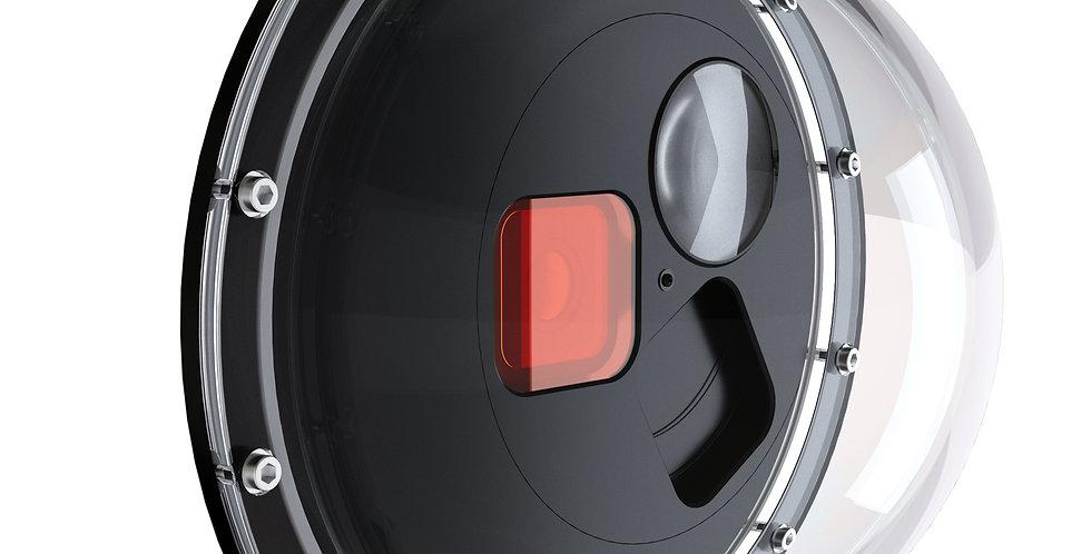 GoPole Carcasa Domo Switch con Filtro + Macro para HERO 9