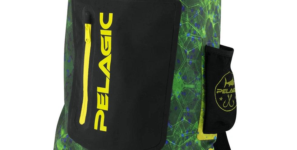 Pelagic Mochila Impermeable Aquapak 30L Green Dorado Hex