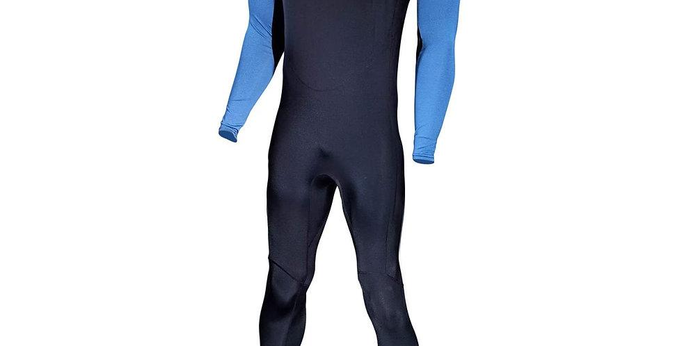Tilos Traje Completo de Lycra Unisex Negro/Azul