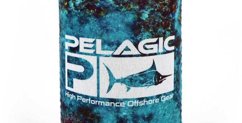 Pelagic Porta Lata Coozie Belize Aqua