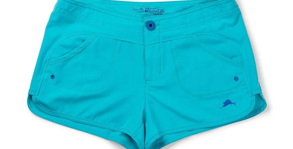 Pelagic Shorts Moana Hybrid Color Aqua