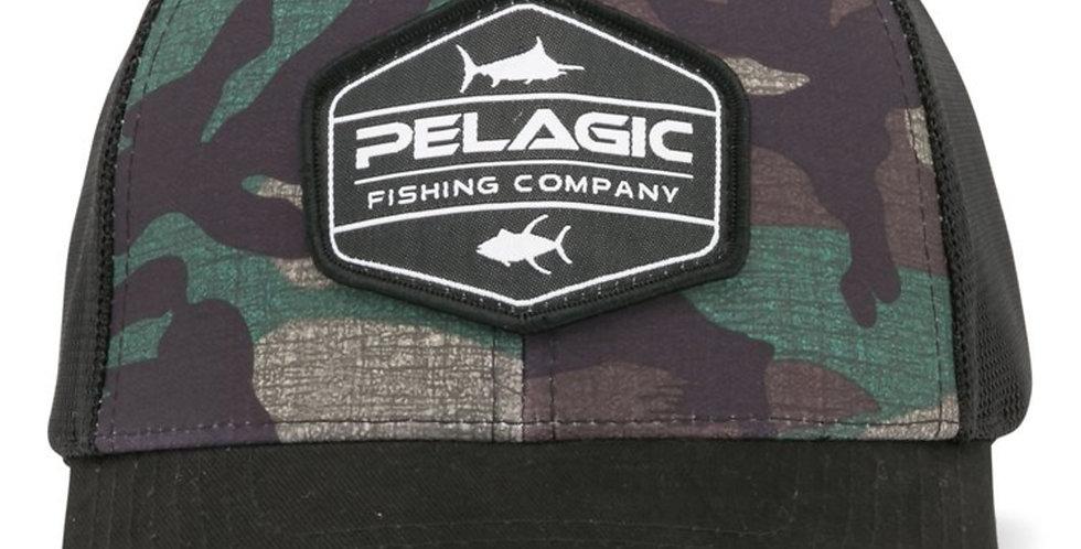 Pelagic Gorra Offshore Green Fish Camo