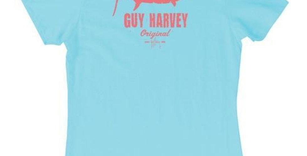 Guy Harvey Playera Dama Rough & Tough