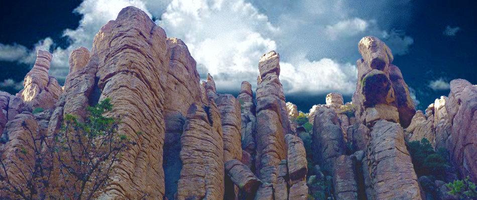 Chiricahua mountains.