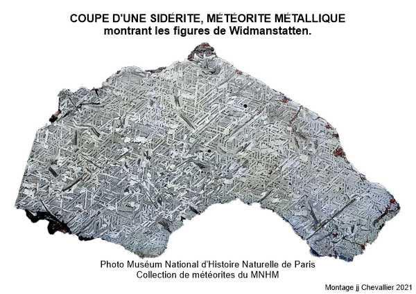 Sidérite collection MNHM Paris.